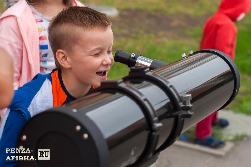 Фото - Оранжевый телескоп, Научное пространство для детей