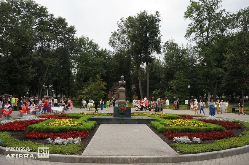 Фото - Сквер им. М.Ю. Лермонтова